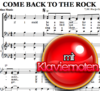 Come back to the rock von Hanjo Gäbler -  Klaviernoten Download