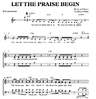 Let the praise begin - Download Chornoten