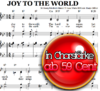 Joy to the world - Klaviernoten zum Download