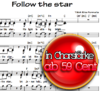 Follow the Star - Chornoten zum Download