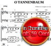 O Tannenbaum - Sheet music for download
