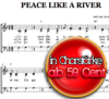 Peace like a river - Chornoten zum Download