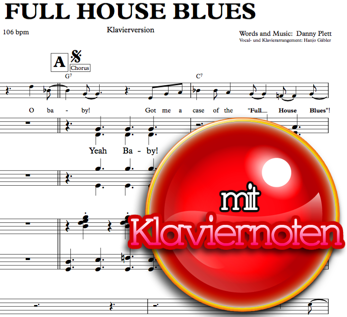 Full House Blues - Piano Sheet Music for Download